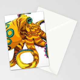 Blue-Ringed Octopus Stationery Cards
