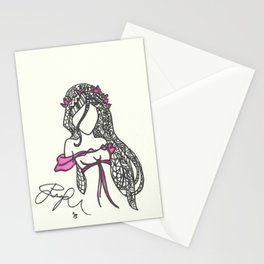 Giselle Zen Tangle Stationery Cards