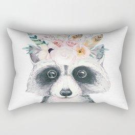 Forest Raccoon by Nature Magick Rectangular Pillow