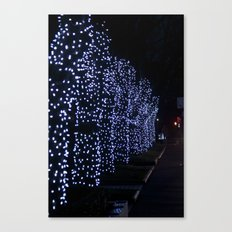 Christmas Blue Light Special Canvas Print