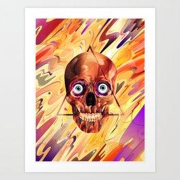 Deathzophrenia. Art Print
