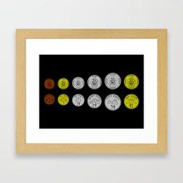 G Cents Framed Art Print
