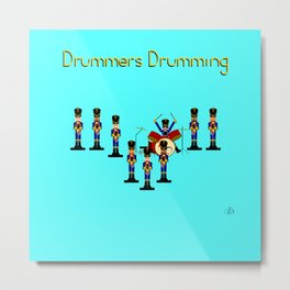 12 Days Of Christmas Nutcracker Theme: Day 9 Metal Print