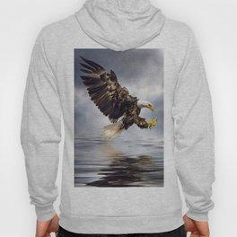 Bald Eagle swooping Hoody