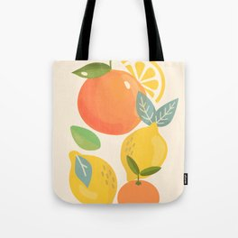 Citrus Fruits Tote Bag