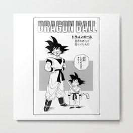 DBZ - Manga 1 Metal Print