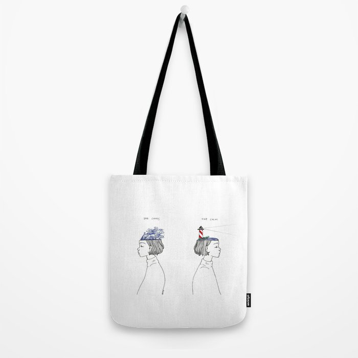 The Chaos and The Calm Tote Bag