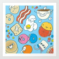 Most Important Meal of the Day Art Print