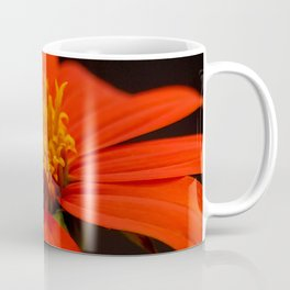 Red African Daisy Coffee Mug