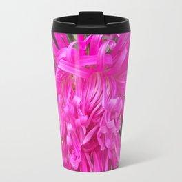 A Beautiful Pink Aster Travel Mug