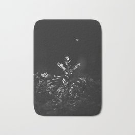 Nature Shots in Black and White. || Butterfly. Forests. || Leaves. || Brunches. || Latvia. || Latvia Bath Mat