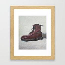 Charlotte's boot Framed Art Print