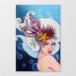 Nereid Kallianassa Canvas Print