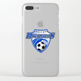 Boston Breakers taem logo Clear iPhone Case
