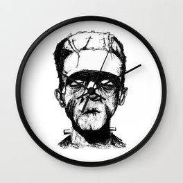 His Monster Wall Clock