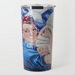 Rosie the Riveter Travel Mug