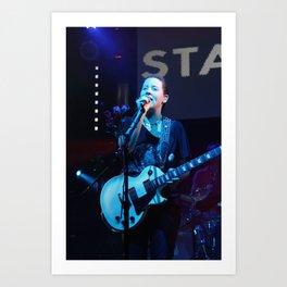 Amy Millan, Stars, In Concert Art Print