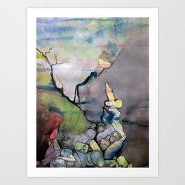 Addiction Art Print
