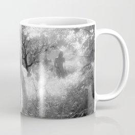 0250-GI BW Infrared Fine Art Nude Seeing Into Oneself Coffee Mug
