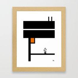 Keep Reaching Framed Art Print