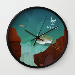 World of Tales Wall Clock