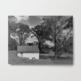 THE SPRINGHOUSE at VARNUM'S HEADQUARTERS Metal Print