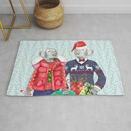 UGLY CHRISTMAS SWEATER WEIMS Rug