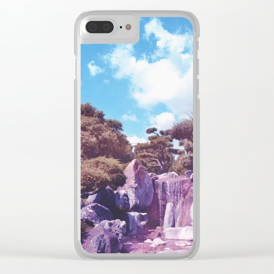 Pastel vibes 58 Clear iPhone Case