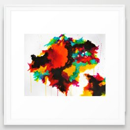 1301 Framed Art Print