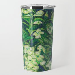 Expressionist Sweet Flowers Travel Mug