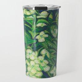 Expressionist Sweet Flowers Travel Mug