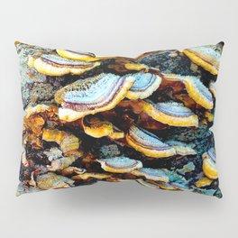 Tree Fungi Pattern Pillow Sham