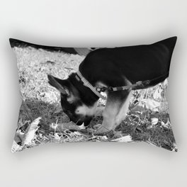 Bella the German Shepard Rectangular Pillow