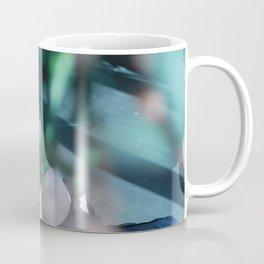 Meditation time, woman is sitting, relaxation Coffee Mug