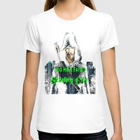arrow T-shirts featuring Arrow by SwanniePhotoArt