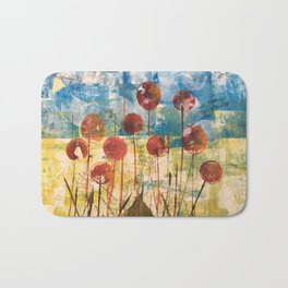 Home Cooked Flowers by Sam Crowe Bath Mat