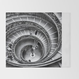 Vatican Staircase Throw Blanket