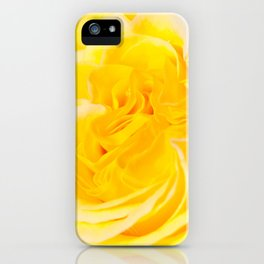 A Touch of Yellow #Rose #1 #art #society6 iPhone Case