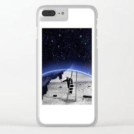 Peindre le ciel Clear iPhone Case