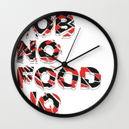 no no no Wall Clock