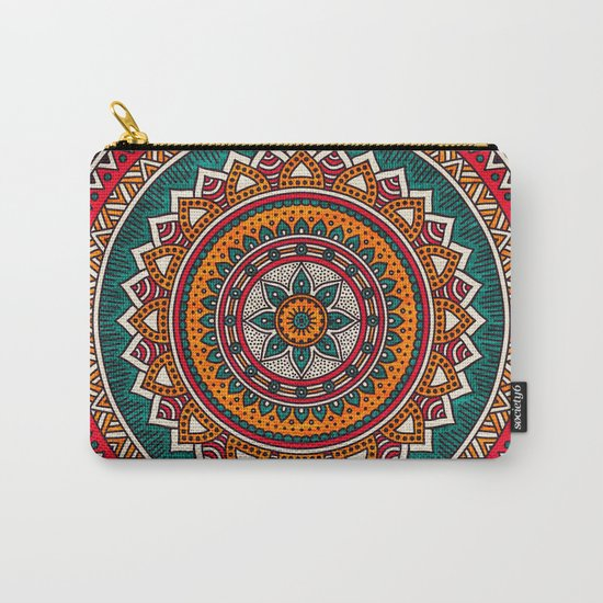 Hippie Mandala 9 Carry-All Pouch