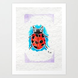 Summer Lover Art Print