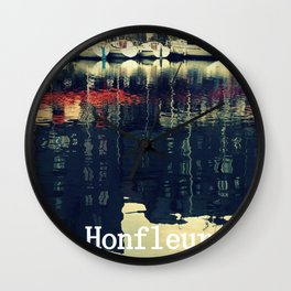 Honfleur, France Wall Clock