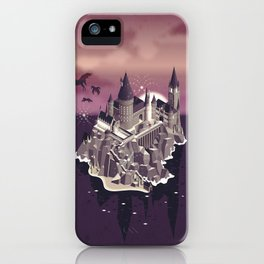 Hogwarts series (year 5: the Order of the Phoenix) iPhone Case