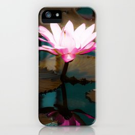 Lovely Lily Pads iPhone Case