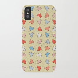 Sweet Hearts iPhone Case
