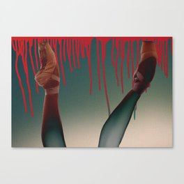 Risqué Pointe (Bubble Gum) Canvas Print