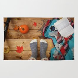 Her Autumn (Color) Rug