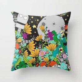 Fantasy kids world Throw Pillow