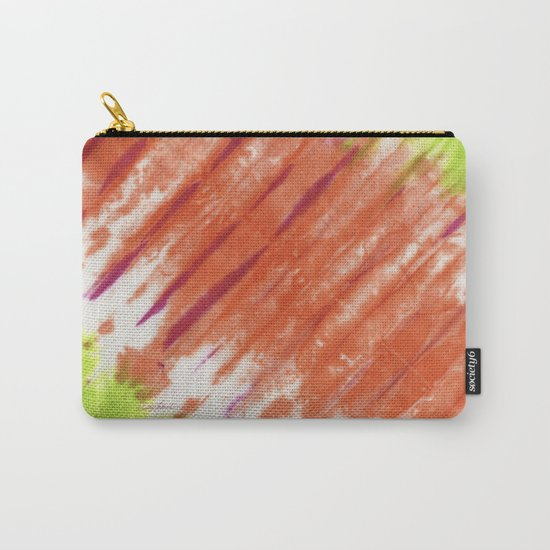 Pleated and Laced Carry-All Pouch